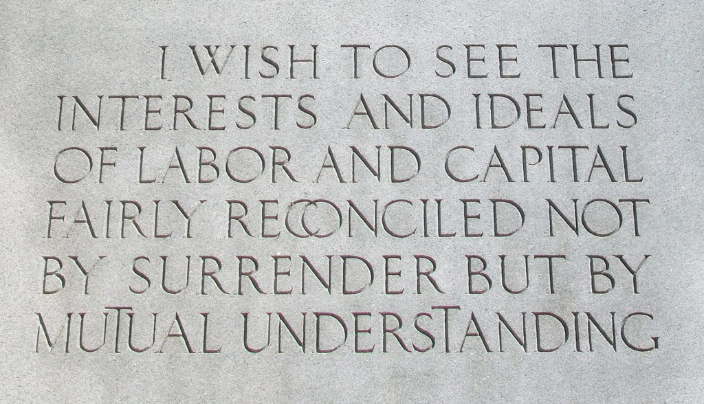 John Mitchell Quote on Monument