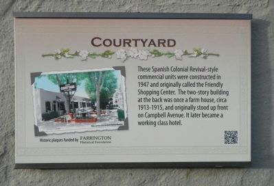 Courtyard Marker image. Click for full size.