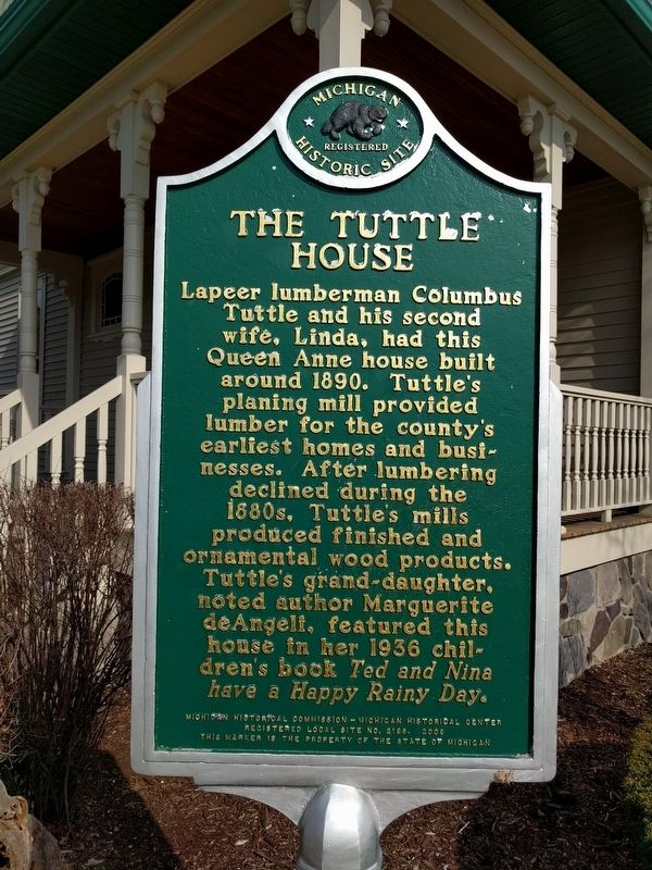 The Tuttle House Marker image. Click for full size.