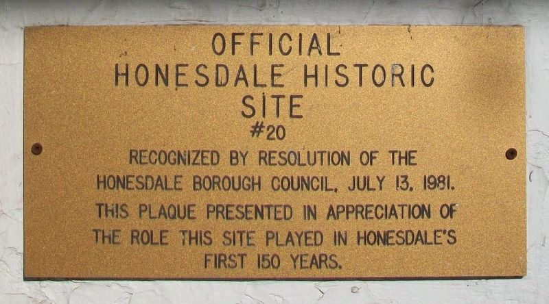 Zenas Russell House Marker image. Click for full size.