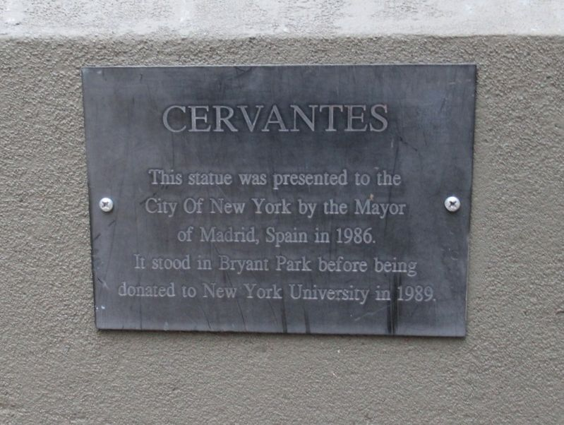 Cervantes Marker image. Click for full size.