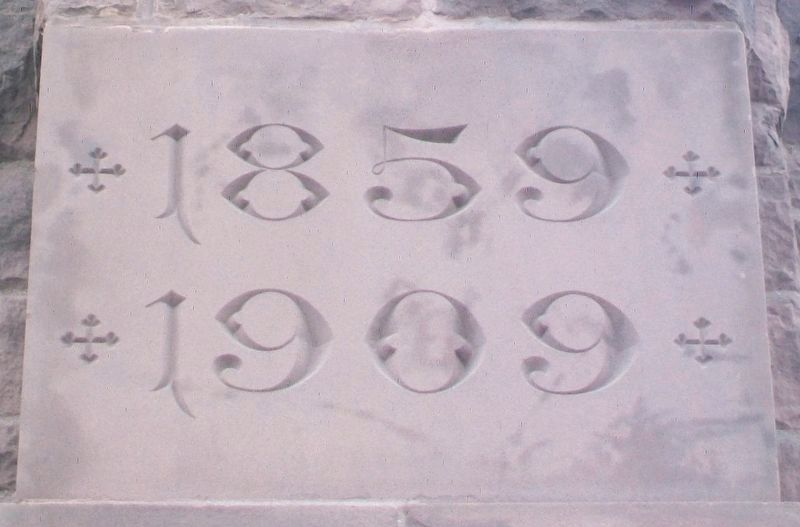 Houlihan - McLean Center (Immanuel Baptist Church) Cornerstone image. Click for full size.