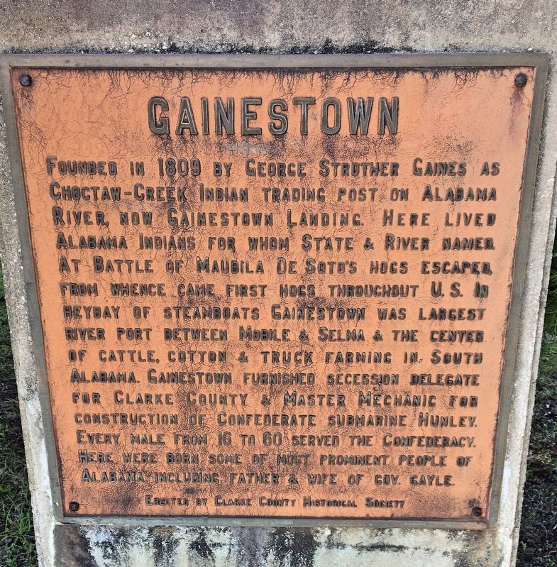 Gainestown Marker image. Click for full size.