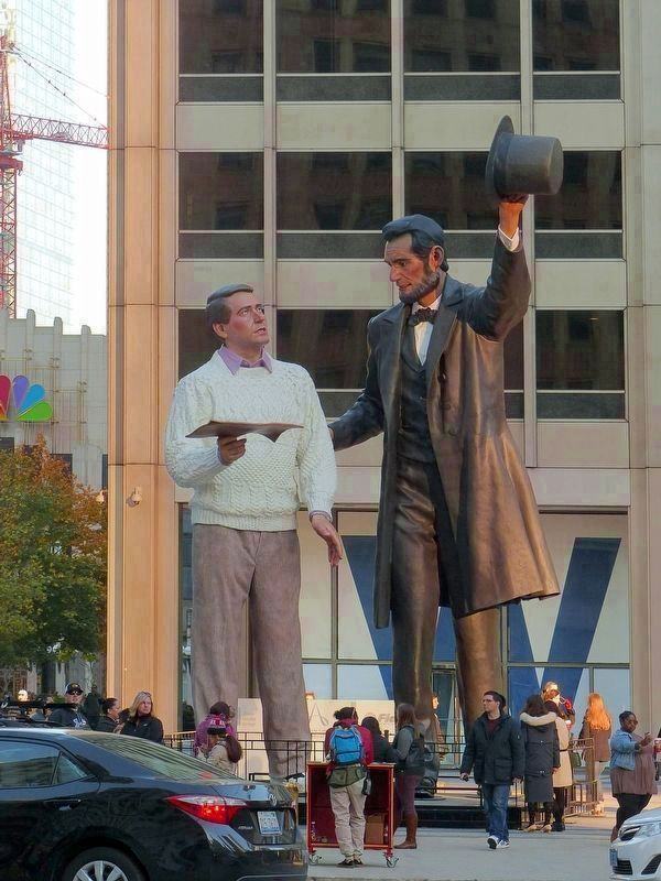 Return Visit<br>by Seward Johnson image. Click for full size.