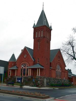 Saline Presbyterian Church image. Click for full size.