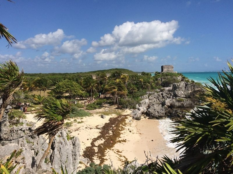 An additional view of El Castillo at Tulum. image. Click for full size.