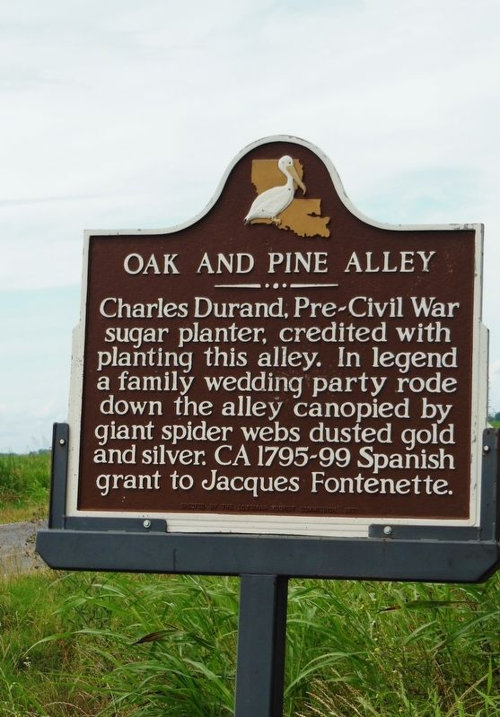 Oak and Pine Alley Marker image. Click for full size.