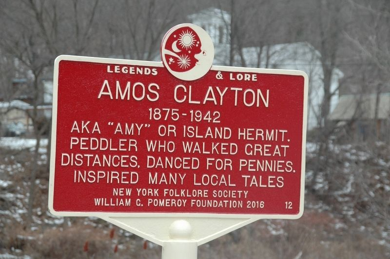 Amos Clayton Marker image. Click for full size.