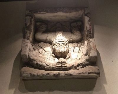 "The ""Descending God"" at the National Museum of Anthropology in Mexico City. image. Click for full size."