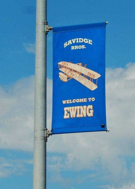 Ewing's Savidge Brothers Welcome Banner image. Click for full size.