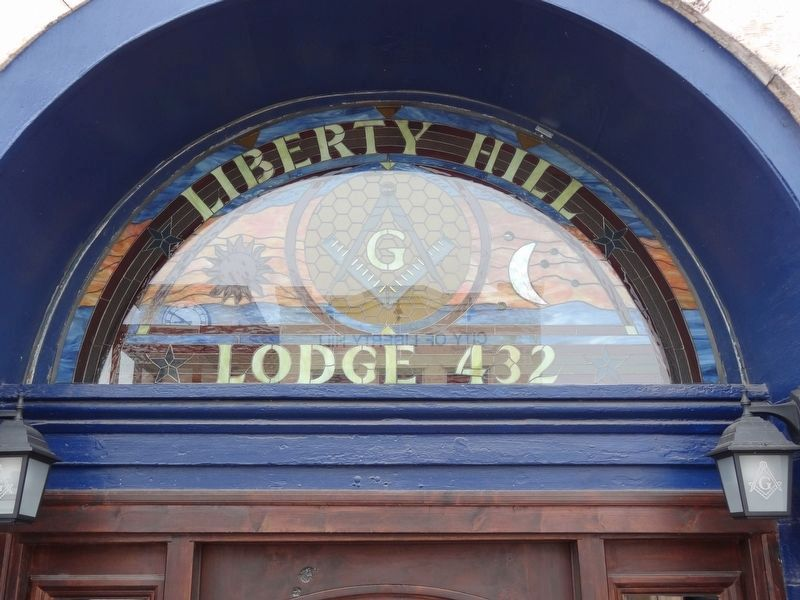 Liberty Hill Masonic Hall image. Click for full size.