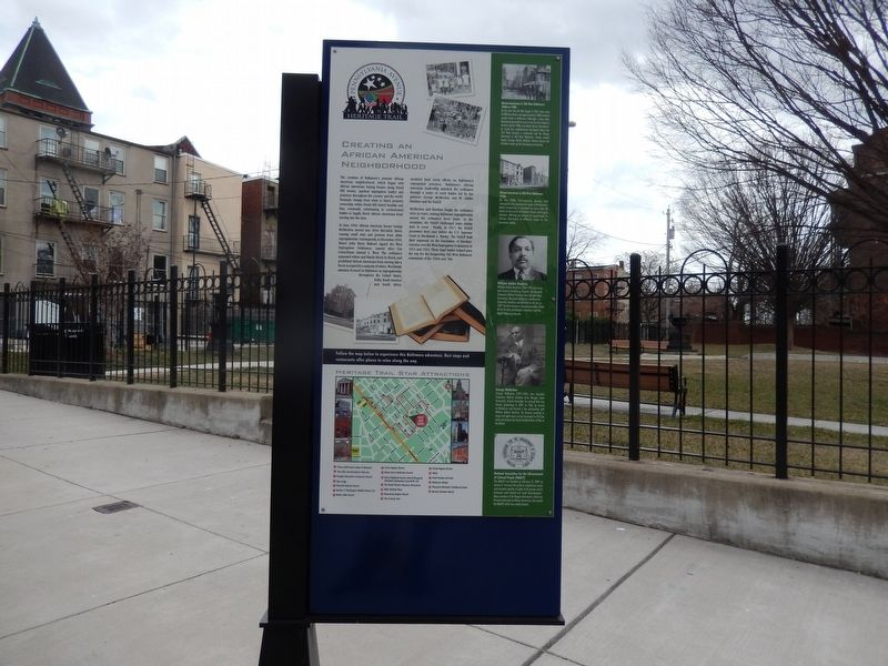 Creating an African American Neighborhood Marker image. Click for full size.