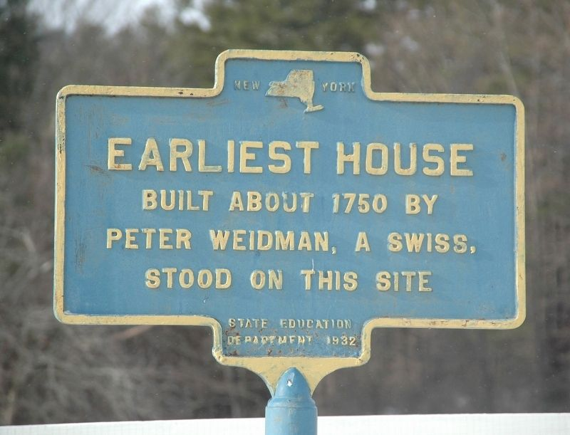 Earliest House Marker image. Click for full size.