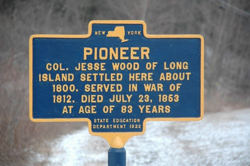 Pioneer Marker image. Click for full size.