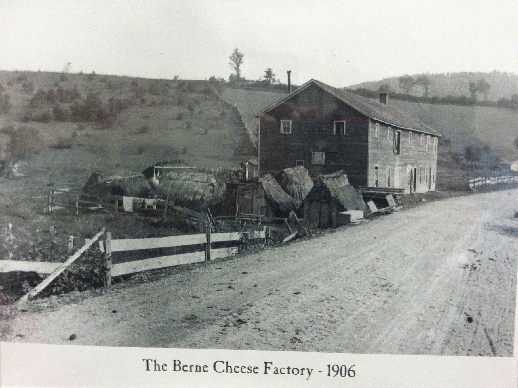 Berne Cheese Factory - 1906 image. Click for full size.