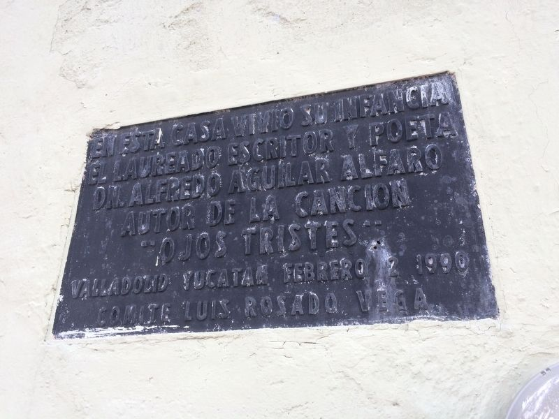 An additional Alfredo Aguilar Alfaro marker above the featured marker. image. Click for full size.