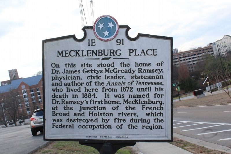 Mecklenburg Place Marker image. Click for full size.