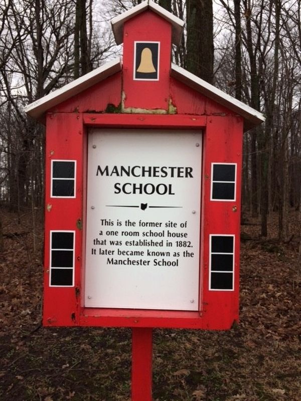 Manchester School Marker image. Click for full size.