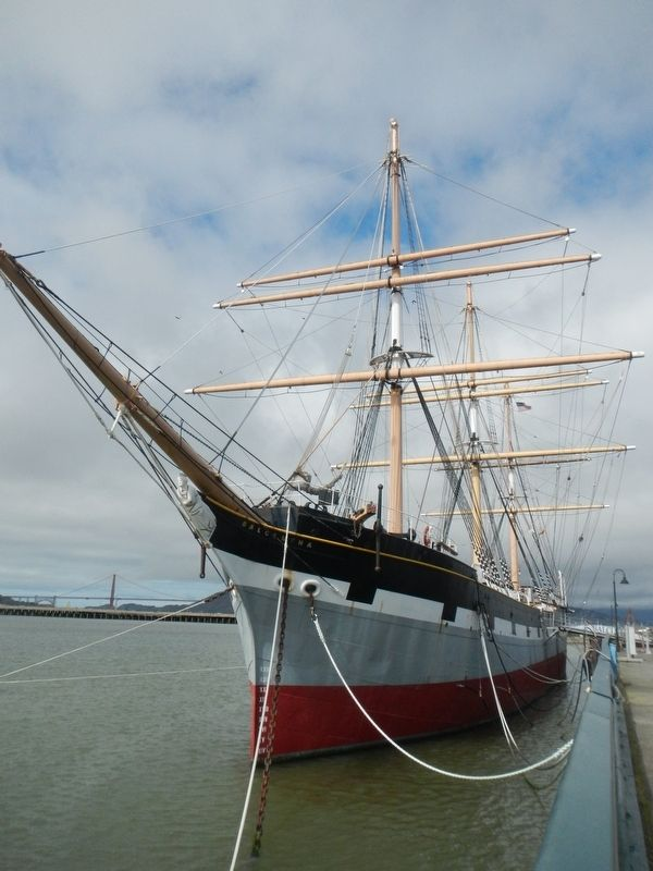Ship <i>Balclutha</i> image. Click for full size.