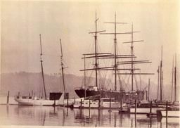 Ship <i>Star of Alaska,</i> aka <i>Balclutha</i> image. Click for full size.