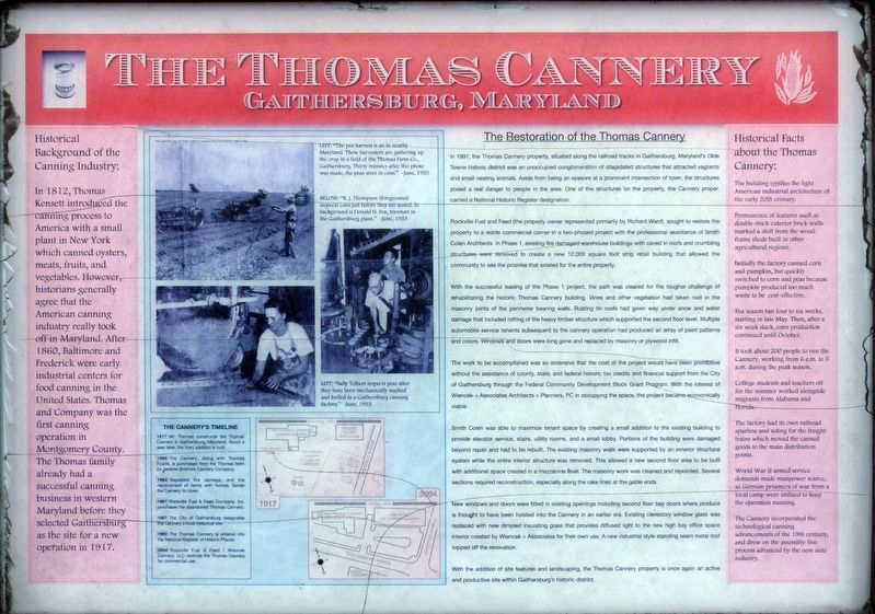 The Thomas Cannery Marker image. Click for full size.