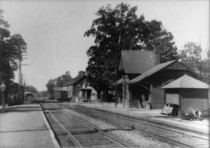 Gaithersburg Station c. 1900 image. Click for full size.