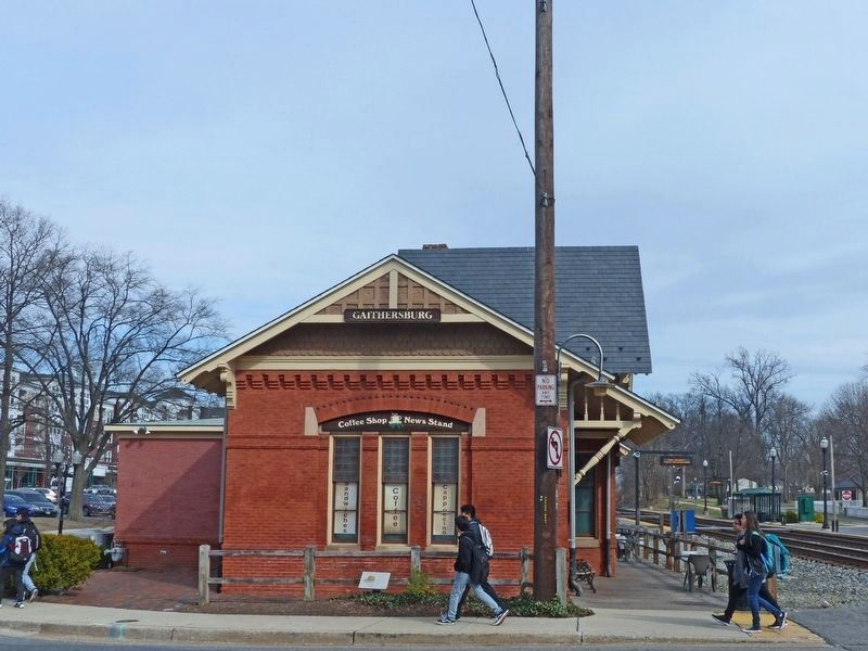 Baltimore and Ohio Railroad Station image. Click for full size.