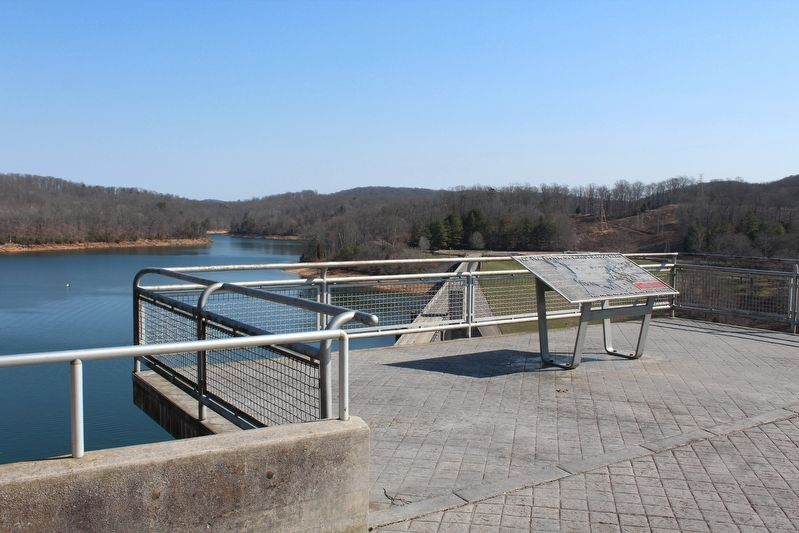 The TVA System of Multi-Purpose Dams Marker image. Click for full size.