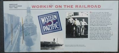 Workin' on the Railroad Marker image. Click for full size.