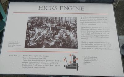 Hicks Engine Marker image. Click for full size.