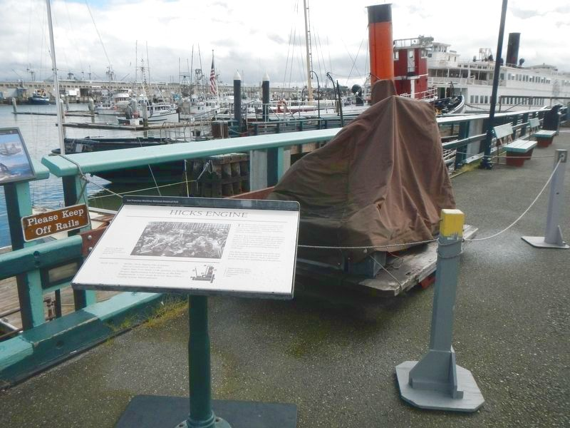 Hicks Engine (covered) and Marker image. Click for full size.