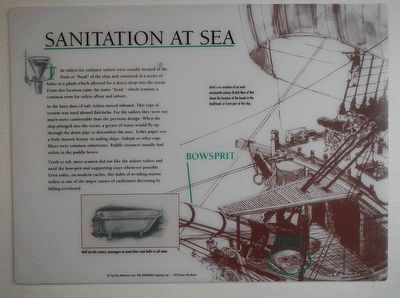 Sanitation at Sea Marker image. Click for full size.