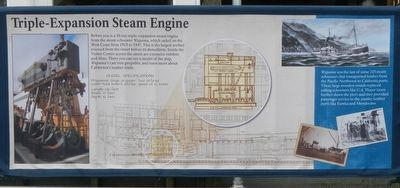 Triple-Expansion Steam Engine Marker image. Click for full size.