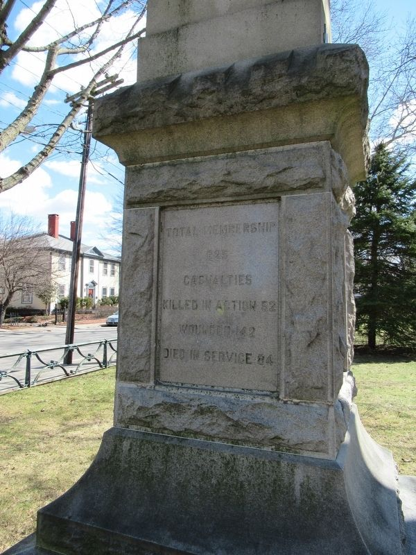 26th Regiment Connecticut Volunteeers Monument image. Click for full size.