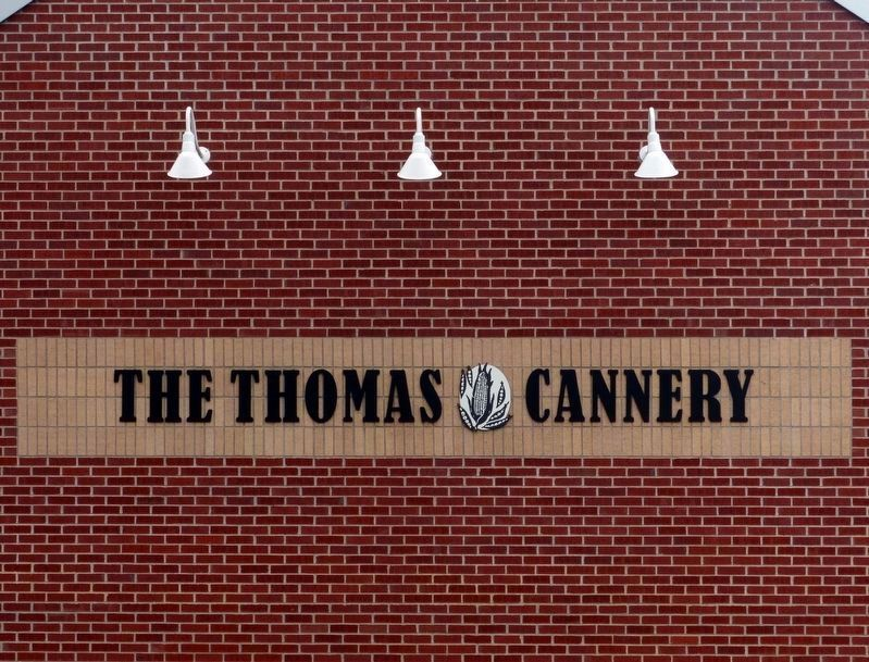 The Thomas Cannery Sign image. Click for full size.