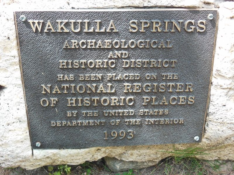 Wakulla Springs Registered Historic Place 1993 image. Click for full size.