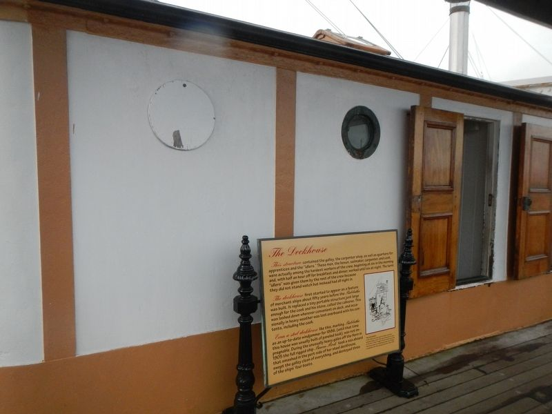 The Deckhouse and Marker image. Click for full size.