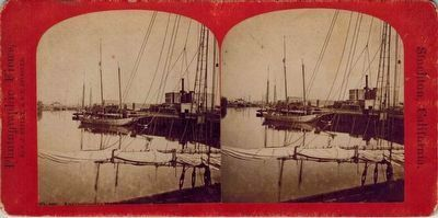 Scow Schooner at Stockton image. Click for full size.