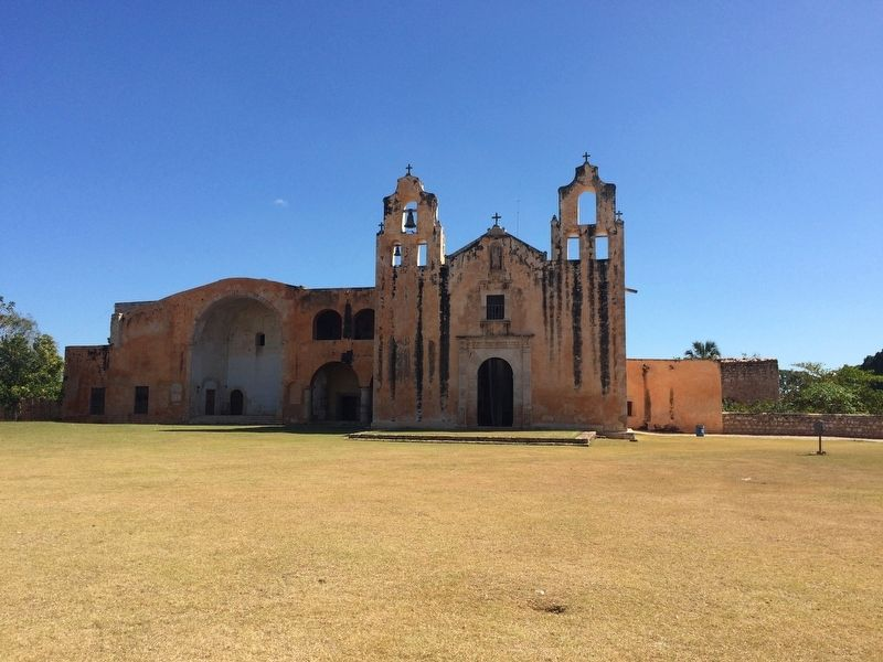 The Franciscan Temple and Ex-Convent of San Miguel Arcángel image. Click for full size.