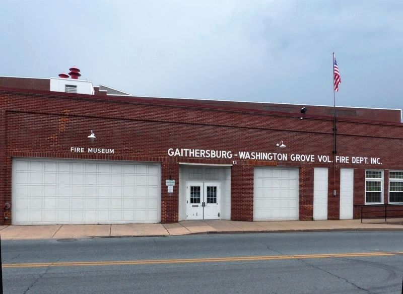 Gaithersburg - Washington Grove Volunteer Fire Department Inc.<br>Fire Museum image. Click for full size.