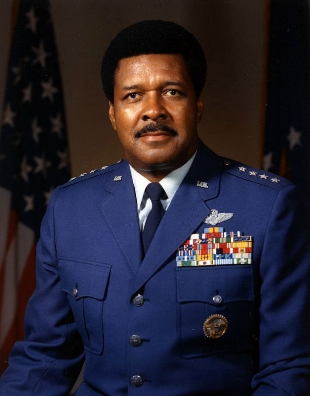 "General Daniel ""Chappie"" James, Jr., USAF image. Click for full size."