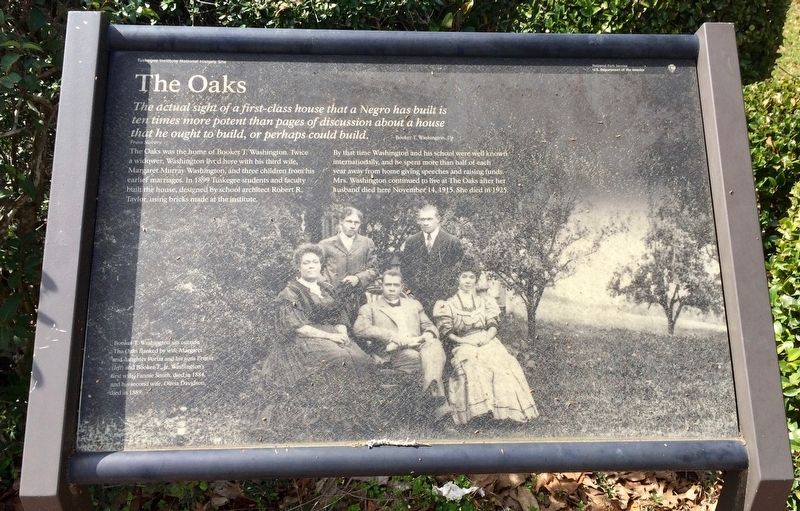 The Oaks Marker image. Click for full size.