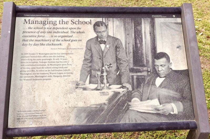 Managing the School Marker image. Click for full size.