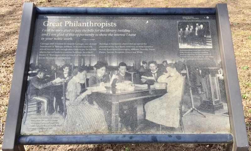 Great Philanthropists Marker image. Click for full size.