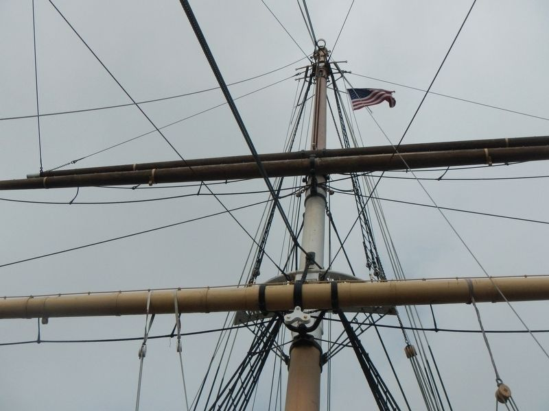 Mizzen Mast image. Click for full size.