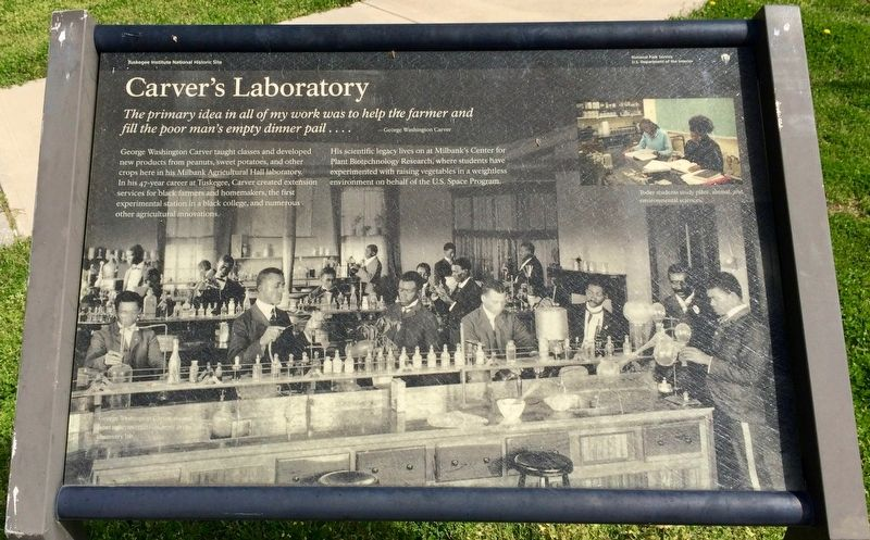 Carver's Laboratory Marker image. Click for full size.