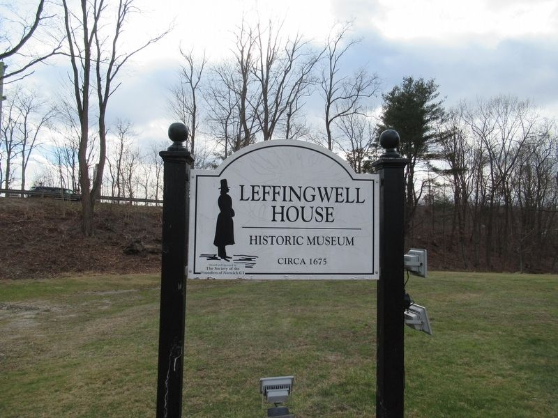 Leffingwell House Historic Museum image. Click for full size.