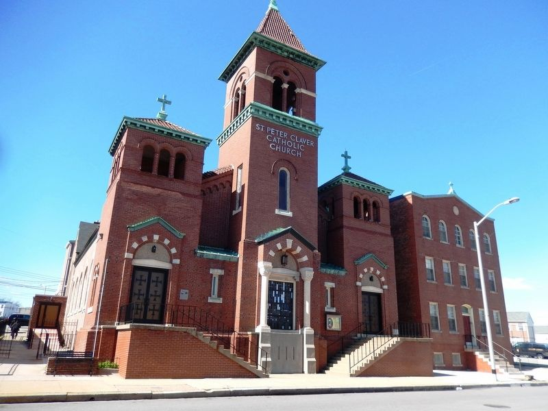 St. Peter Claver Church image. Click for full size.