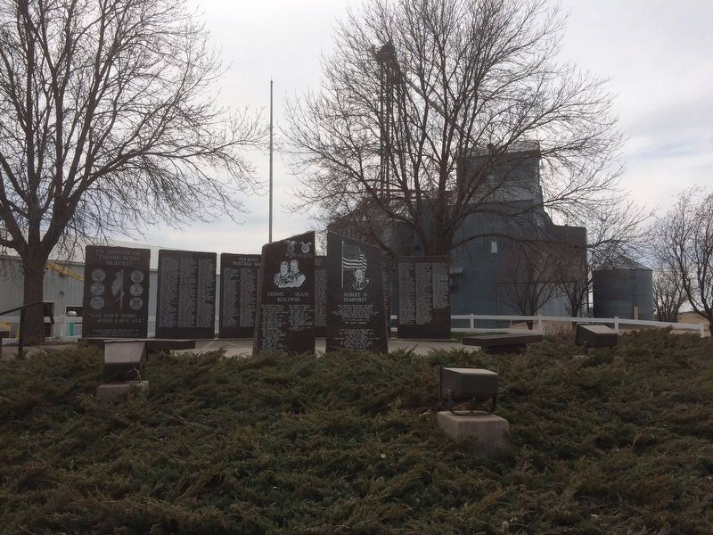 Doland South Dakota Veterans' Memorial image, Touch for more information