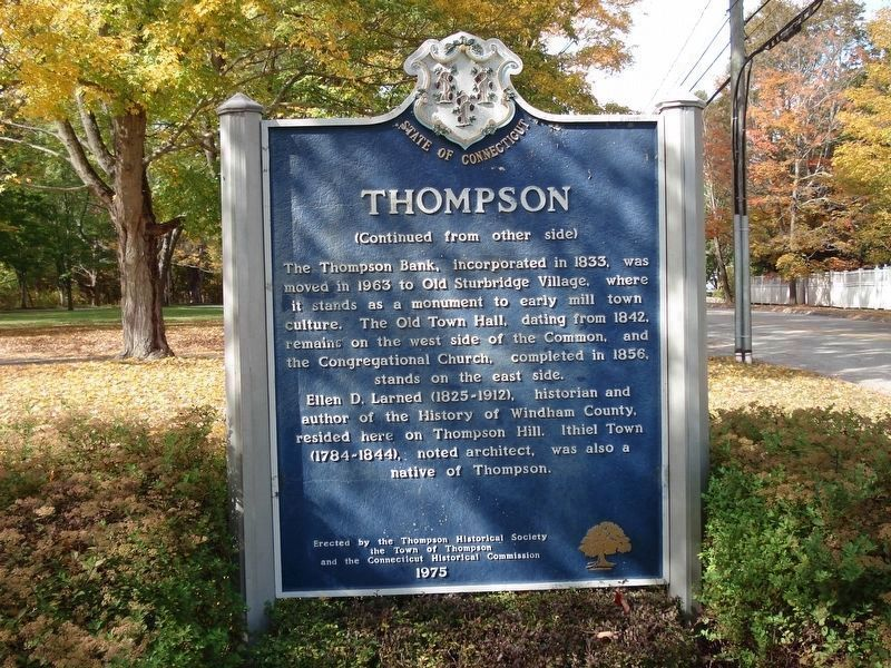 Thompson Marker (Back) image. Click for full size.
